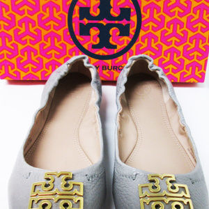 Tory Burch ballet flats/Grey